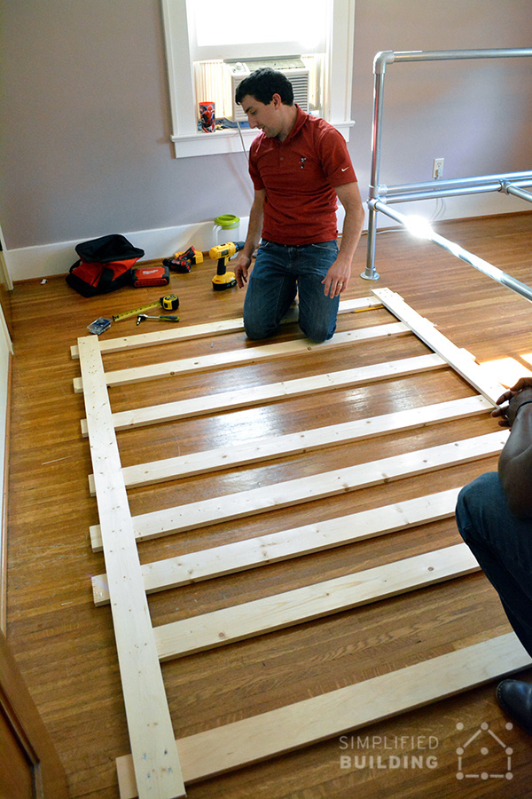 Build your own industrial bed