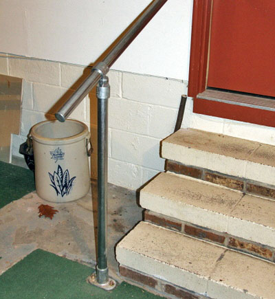 Railing for indoor stairs