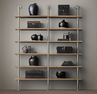 Industrial style shelving unit projects simplified for Industrial look regal