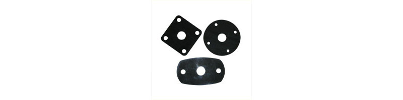 Neoprene gaskets for table tops
