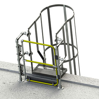 full height gates for ladders