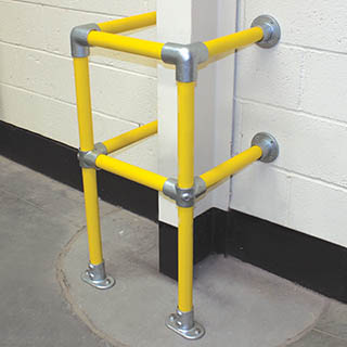 yellow kee klamp barrier